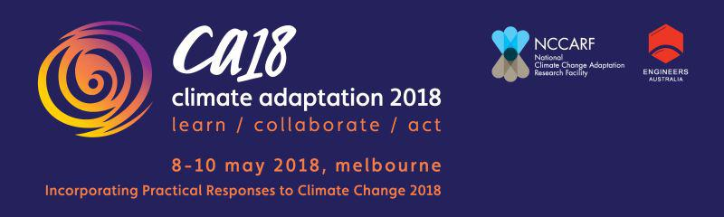 Climate Adaptation 2018 conference
