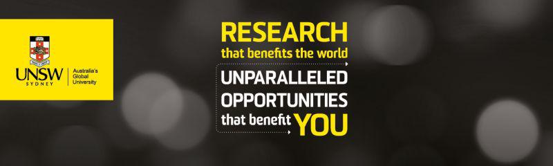 UNSW Scientia Research Recruitment