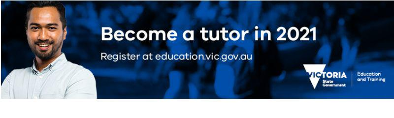 Tutors to support student learning in Victoria