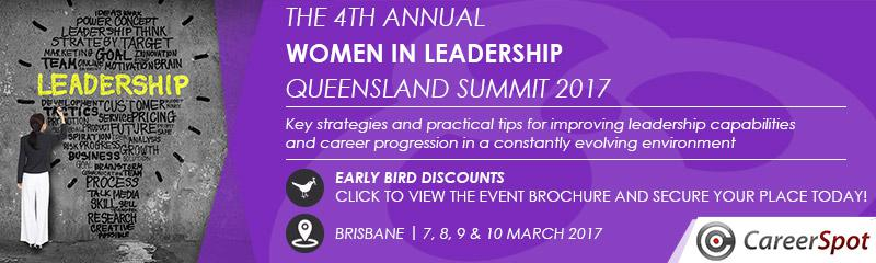 The 4th Annual Women in Leadership Queensland Summit 2017