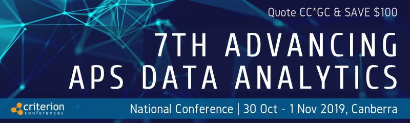 7th Advancing APS Data Analytics Conference