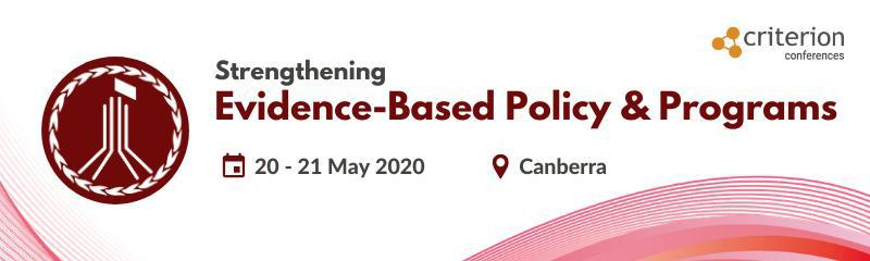Strengthening Evidence-Based Policy & Programs Conference