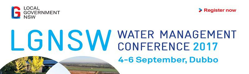 Local Government NSW Water Management Conference 2017