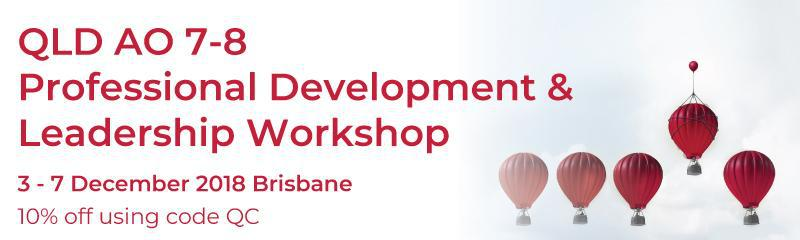 QLD AO 7-8 Professional Development & Leadership Summit