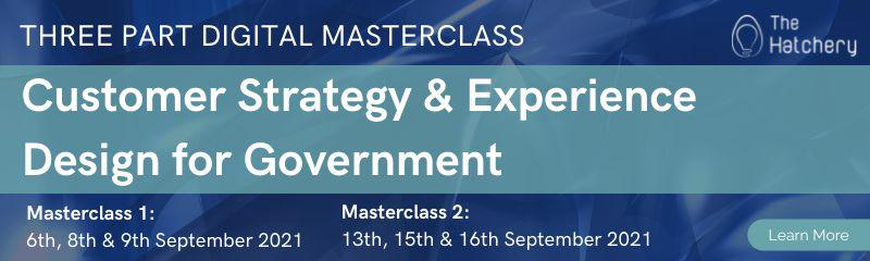 Customer Strategy & Experience Design for Government